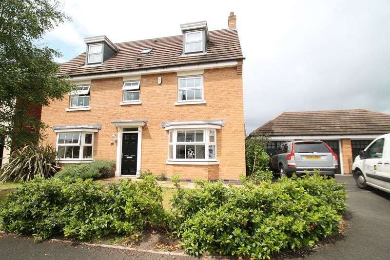 6 Bedrooms Detached House for sale in Hough Way, Wolverhampton