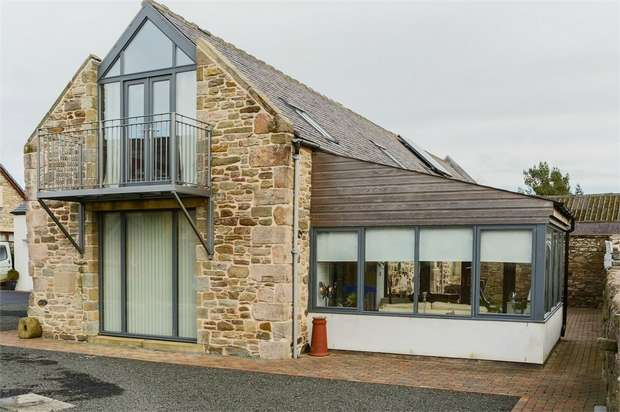 4 Bedrooms Detached House for sale in Foulden Newton, Scottish Borders, Scottish Borders