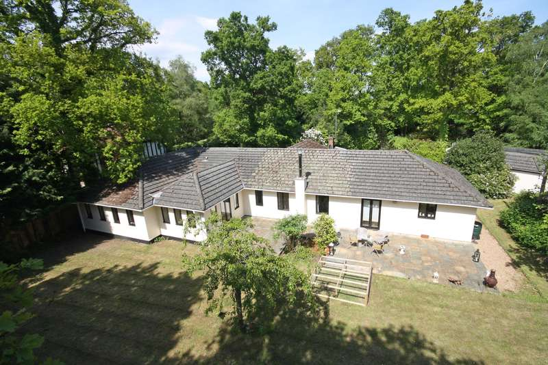 4 Bedrooms Detached Bungalow for sale in Lake View Road, Furnace Wood, RH19