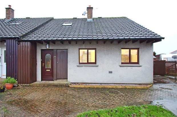 3 Bedrooms Semi Detached Bungalow for sale in Blackrig, Thornhill, Dumfries and Galloway