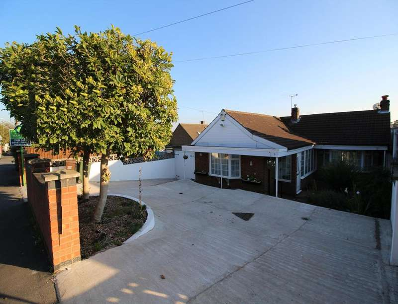 3 Bedrooms Detached Bungalow for sale in Church Hill Road, Thurmaston, Leicester, LE4