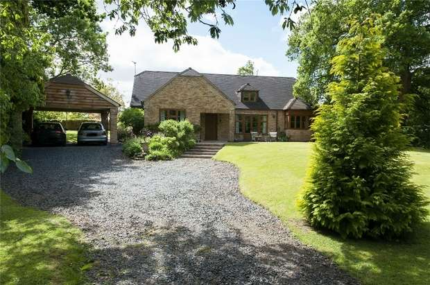3 Bedrooms Detached House for sale in Wyson, Brimfield, Nr Ludlow, Shropshire