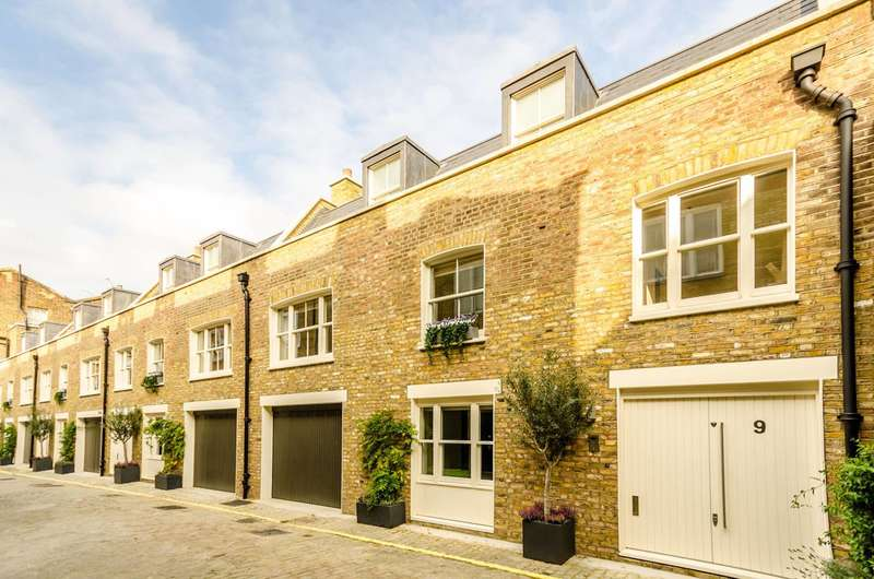 2 Bedrooms House for sale in Wellington Close, Notting Hill, W11
