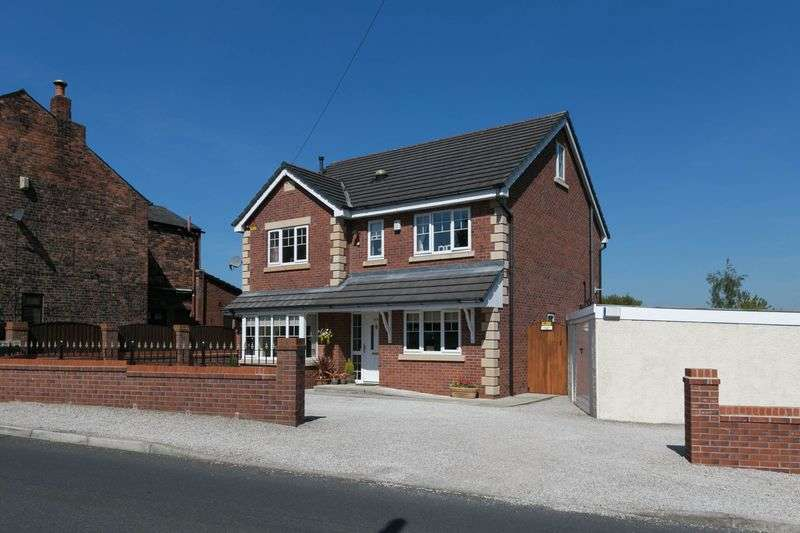 5 Bedrooms Detached House for sale in Booths Brow Road, Ashton-in-Makerfield, WN4 0NG