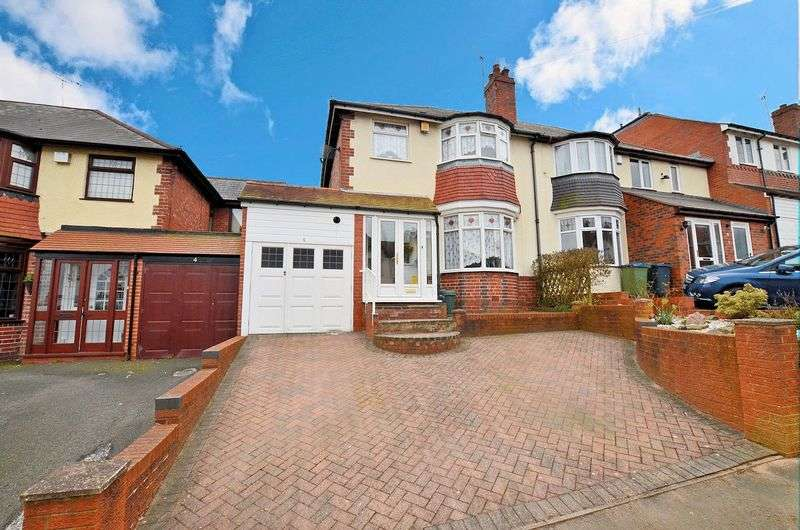 3 Bedrooms Semi Detached House for sale in Thuree Road, WARLEY WOODS AREA, Smethwick
