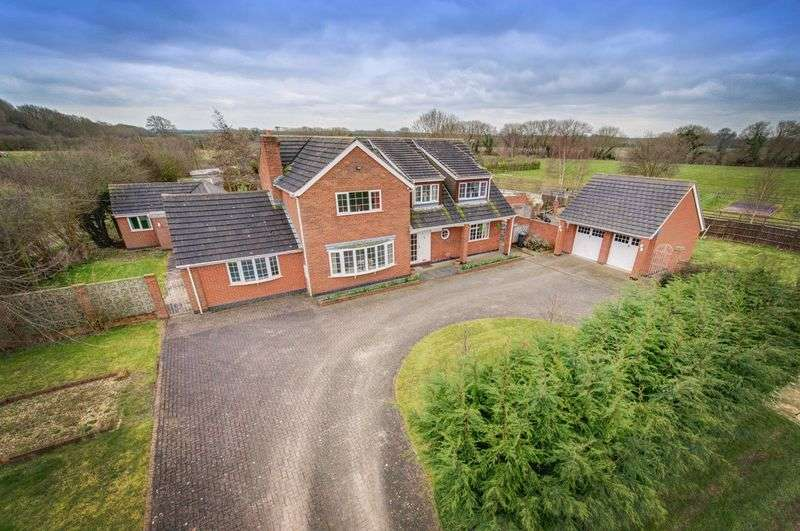 4 Bedrooms Detached House for sale in CALVERY HOUSE, SINFIN MOOR LANE, CHELLASTON