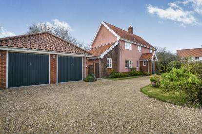 4 Bedrooms Detached House for sale in St. James South Elmham, Halesworth, Suffolk