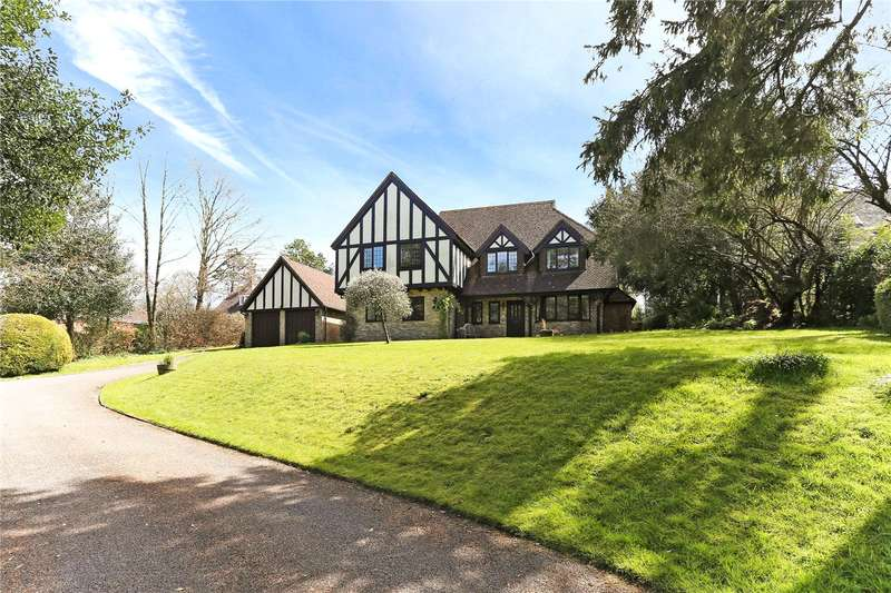 5 Bedrooms Detached House for sale in Wellhouse Road, Beech, Alton, Hampshire, GU34
