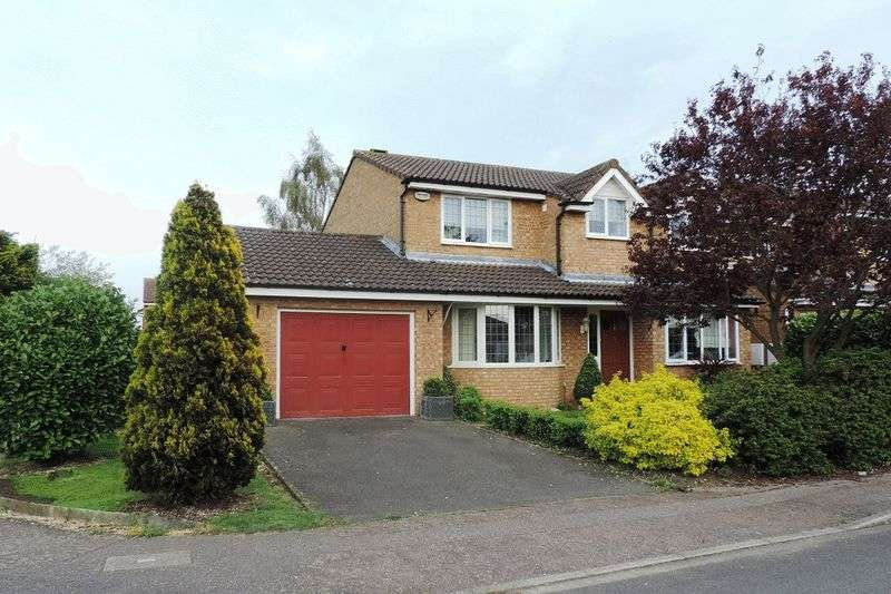 4 Bedrooms Detached House for sale in Mayhew Close, Bromham