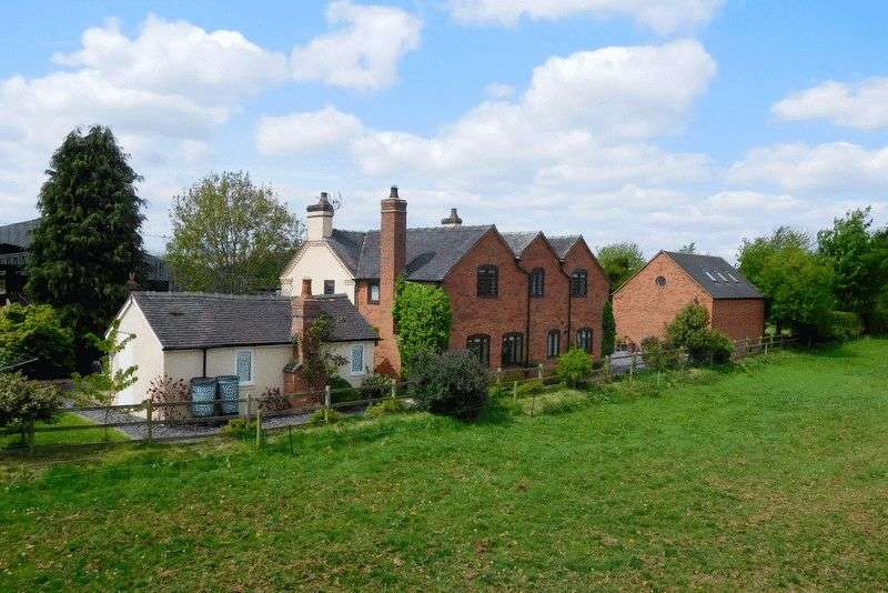 5 Bedrooms Detached House for sale in White Cross, Haughton, Stafford
