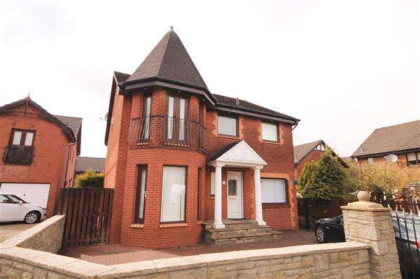 4 Bedrooms Detached House for sale in Balloch Road, Moffat Mills, Airdrie