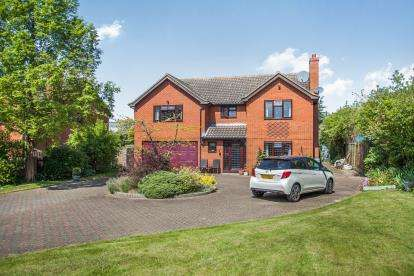 5 Bedrooms Detached House for sale in Hadleigh, Ipswich, Suffolk