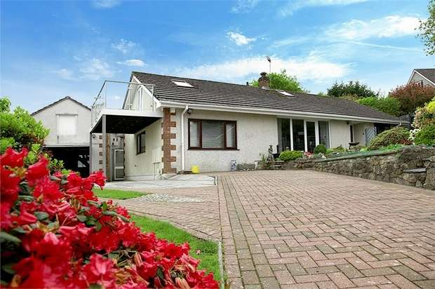 4 Bedrooms Detached Bungalow for sale in Middle Dimson, Gunnislake, Cornwall