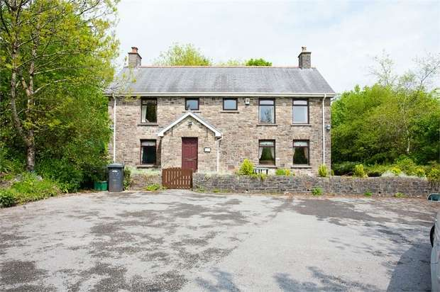 3 Bedrooms Detached House for sale in Evans Row, Pontsticill, Merthyr Tydfil, Mid Glamorgan