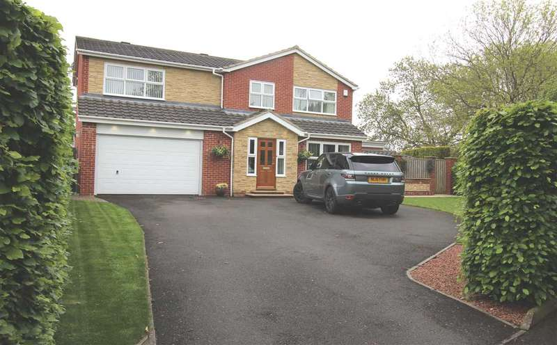 4 Bedrooms Detached House for sale in Roslin Way, Barns Park, Cramlington