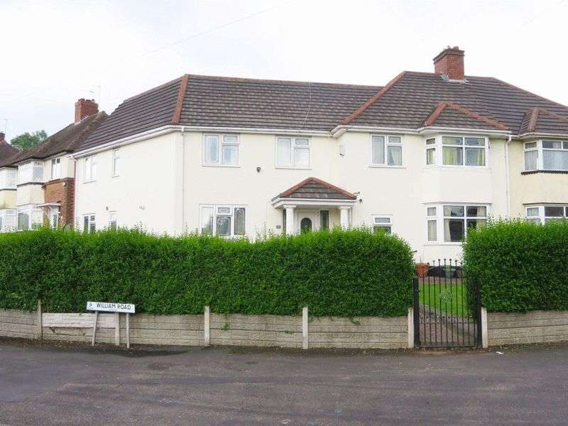 8 Bedrooms Semi Detached House for sale in William Road, Smethwick