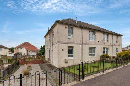 2 Bedrooms Flat for sale in The Loaning, Maybole