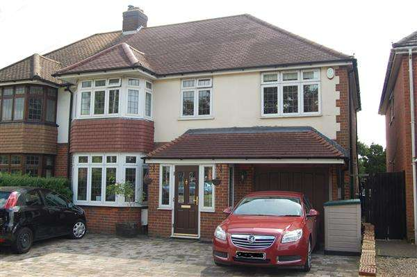 4 Bedrooms Semi Detached House for sale in Hitchen Rd, Luton