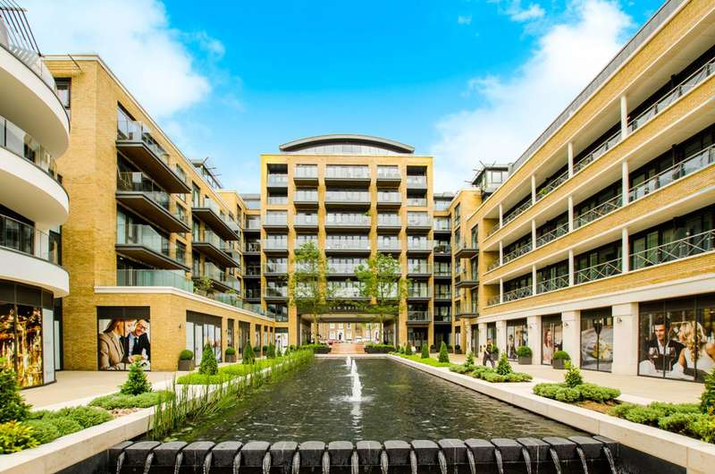 3 Bedrooms Flat for sale in Quayside House, Brentford, TW8