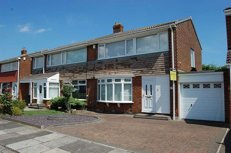 3 Bedrooms Semi Detached House for sale in ** POPULAR STREET ** Bourtree Close, Wallsend