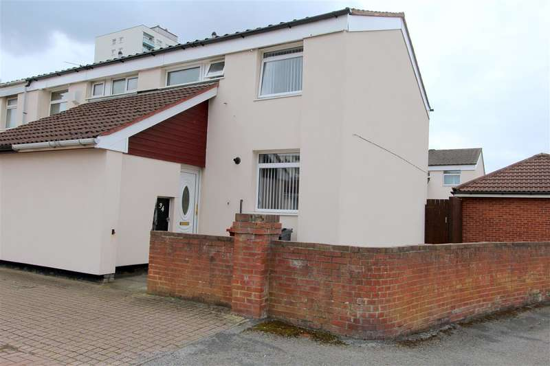 3 Bedrooms End Of Terrace House for sale in Little Moss Hey, Stockbridge Village, Liverpool