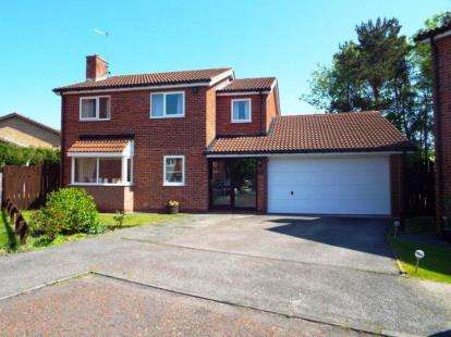 4 Bedrooms Detached House for sale in Forest Drive, Washington, Tyne and Wear, NE38