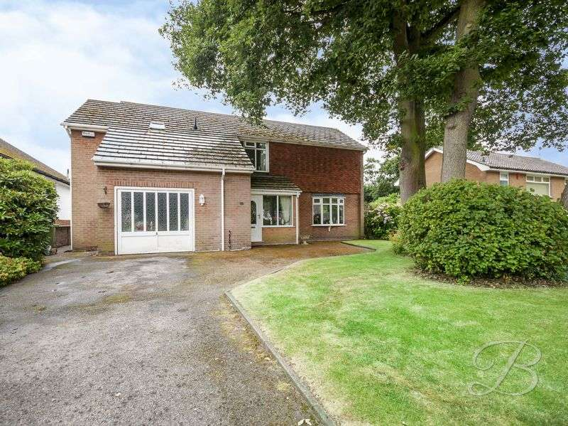 4 Bedrooms Detached House for sale in Egerton Close, Mansfield