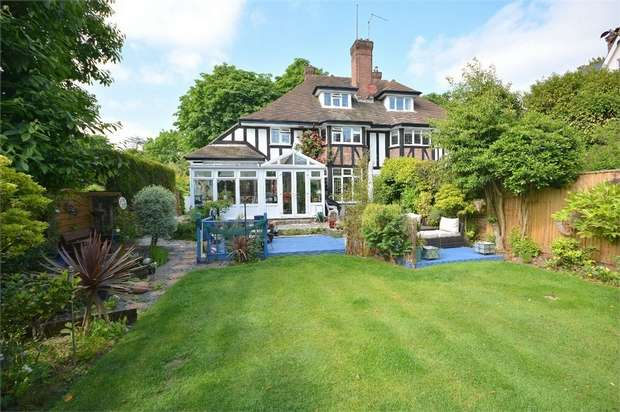 5 Bedrooms Semi Detached House for sale in Meyrick Park, Bournemouth, Dorset