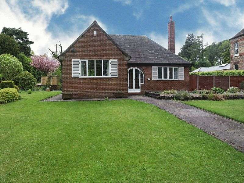 4 Bedrooms Detached Bungalow for sale in Brammall Drive, Blythe Bridge, Stoke-On-Trent, ST11 9HH