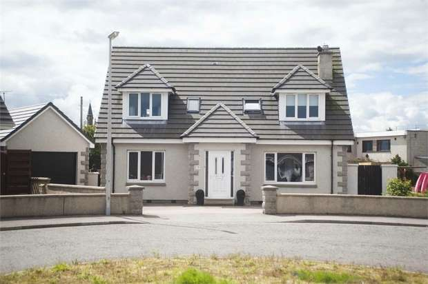 4 Bedrooms Detached House for sale in Redwell Drive, Whitehills, Banff, Aberdeenshire