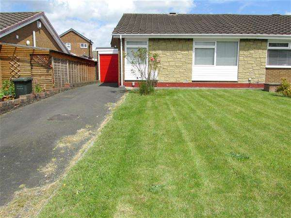 2 Bedrooms Bungalow for sale in Beckside Gardens, Newcastle upon Tyne