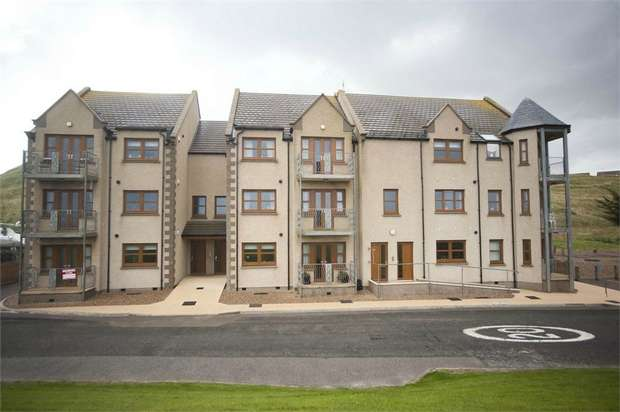 2 Bedrooms Flat for sale in Harbour Place, Whitehills, Banff, Aberdeenshire
