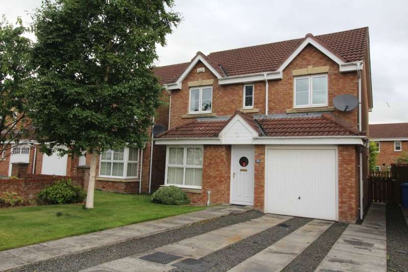4 Bedrooms Detached House for sale in Cricketfield Place, Armadale, Bathgate, EH48