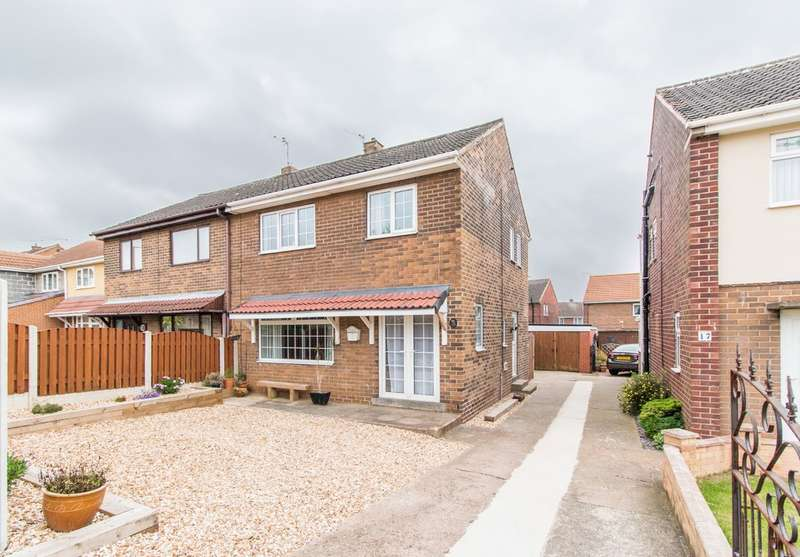 3 Bedrooms Semi Detached House for sale in Larch Grove, Conisbrough