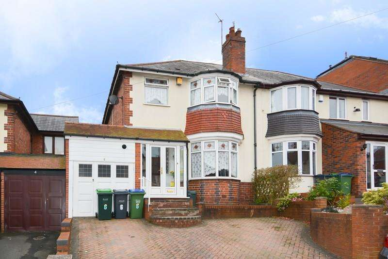 3 Bedrooms Semi Detached House for sale in Thuree Road, Smethwick