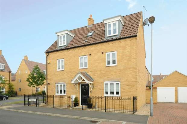 5 Bedrooms Detached House for sale in Ashmead Road, Brickhill