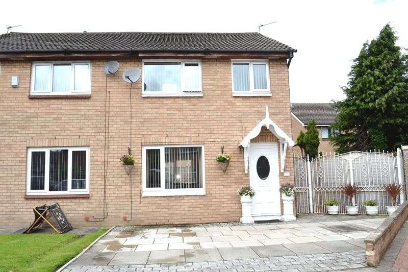 3 Bedrooms Semi Detached House for sale in Brierley Close, Netherton