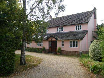 4 Bedrooms Detached House for sale in Finningham, Stowmarket, Suffolk