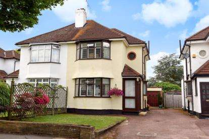 3 Bedrooms Semi Detached House for sale in Crescent Drive, Petts Wood, Orpington
