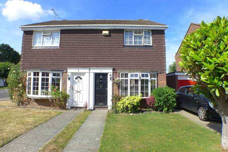 2 Bedrooms Semi Detached House for sale in Austral Close, Sidcup, DA15 7LE