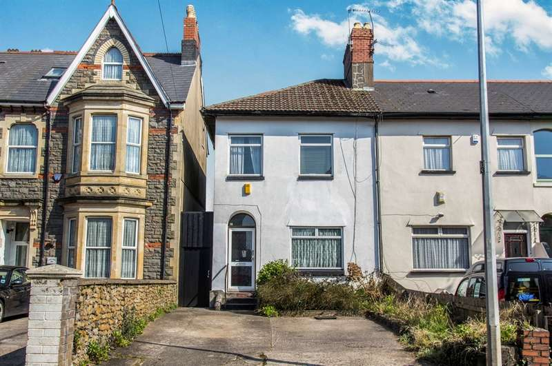 4 Bedrooms End Of Terrace House for sale in Llandaff Road, Cardiff