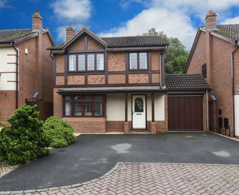 4 Bedrooms Detached House for sale in Wainwright Close, Wall Heath