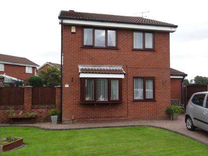 3 Bedrooms Detached House for sale in Ripon Close, Newton-Le-Willows, Merseyside