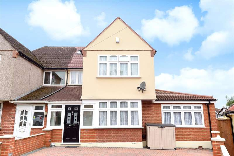 4 Bedrooms Semi Detached House for sale in Worple Way, Harrow, Middlesex, HA2