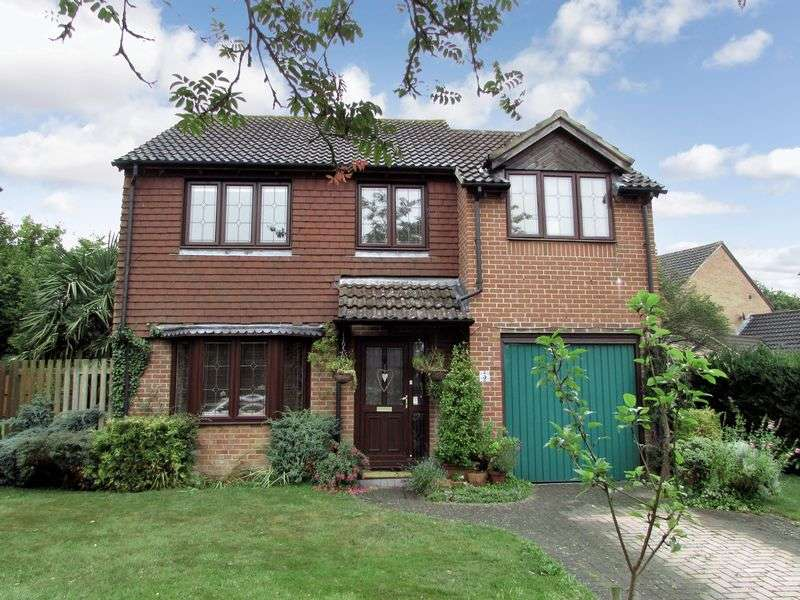 4 Bedrooms Detached House for sale in Pavy Close, Thatcham