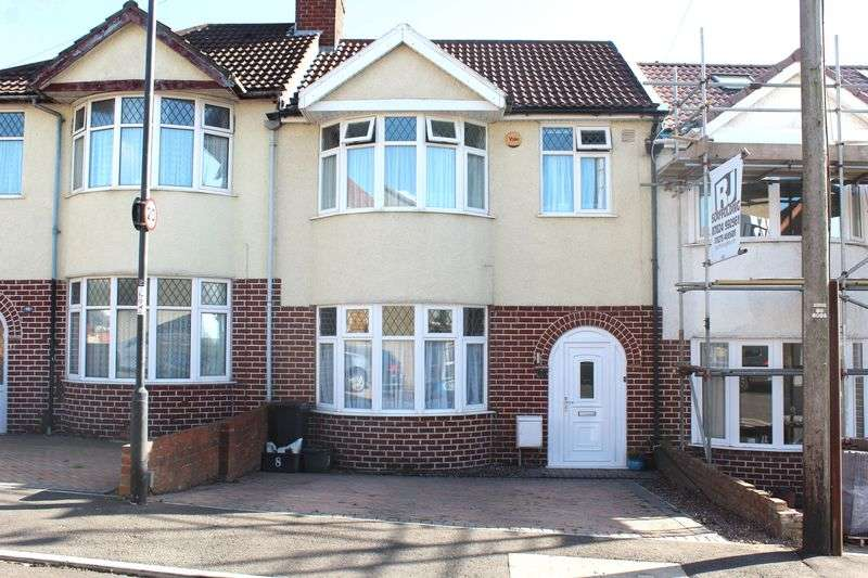 3 Bedrooms Terraced House for sale in Elton Road, Kingswood, Bristol