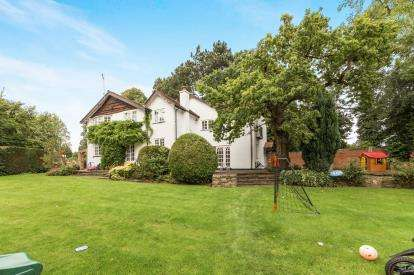 4 Bedrooms Detached House for sale in Hollies Lane, Wilmslow, Cheshire, Wilmslow