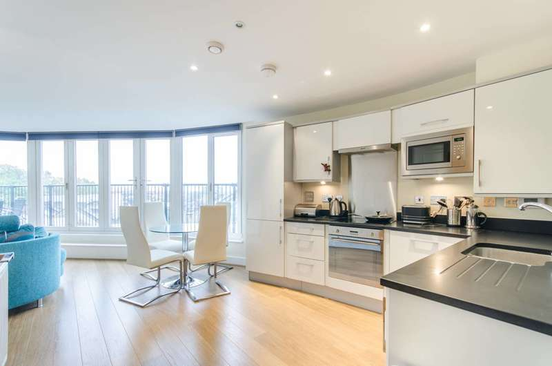Penthouse in  Malvern Road  London  NW6  Richmond