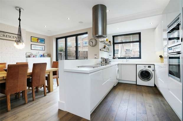 Terraced house in  Thorney Hedge Road  London  W4  Richmond