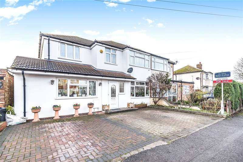 Semi Detached in  Fairholme Crescent  Hayes  Middlesex  UB4  Richmond